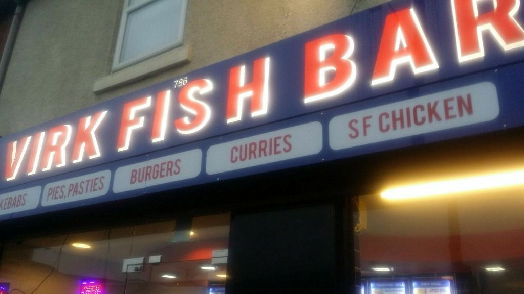 Virk Fish Bar For Sale In Walsall Takeaway Jungle