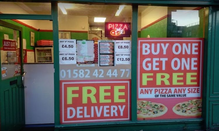 Pizza Cottage Takeaway For Sale In Luton Takeaway Jungle